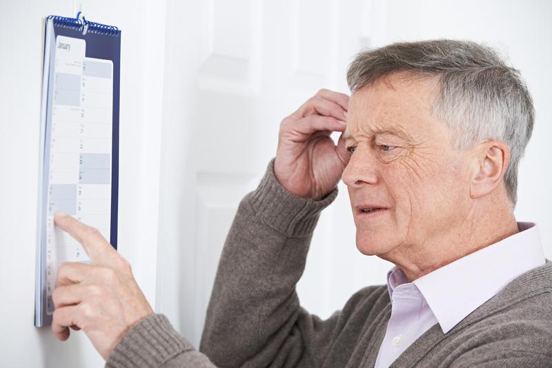 symptome demenz